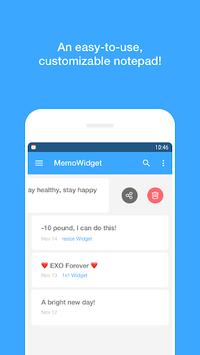 Memo Widget (to-dos&ideas) pc screenshot 1