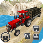 Rural Farm Tractor 3d Simulator icon