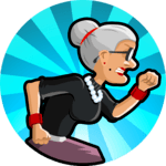 Angry Gran Run - Running Game for pc logo