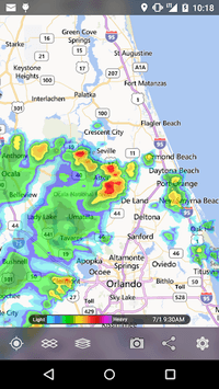 MyRadar Weather Radar pc screenshot 1
