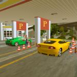 Sports Car Parking Pro & Gas Station Car Wash icon