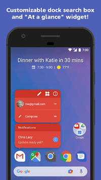 Action Launcher: Pixel Edition pc screenshot 1