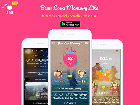 Been Love Memory Lite - Love Counter Lite 2018 pc screenshot 1