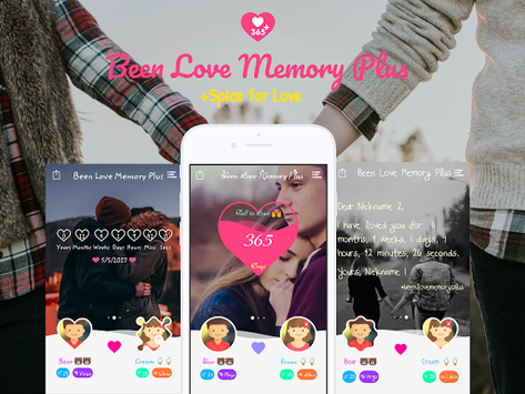 Been Love Memory Plus - Love Counter Plus pc screenshot 1