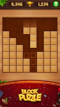 Block Puzzle - Wood Legend pc screenshot 1