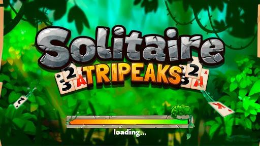 Solitaire Tripeaks - Lost Worlds Adventure PC screenshot 1