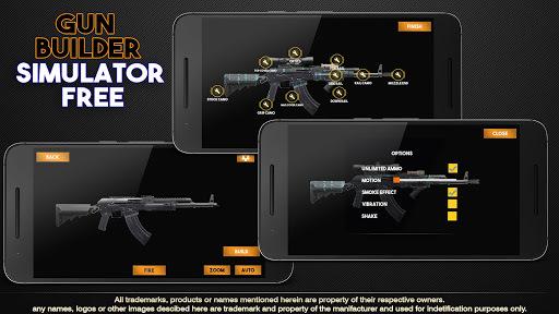 Gun Builder Simulator Free pc screenshot 1