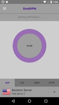 DroidVPN - Android VPN pc screenshot 2