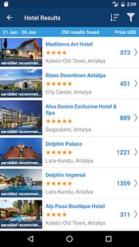 Aerobilet - Flights, Hotels, Bus, Transfer pc screenshot 1
