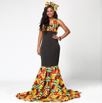 African Print Dresses Ideas pc screenshot 1