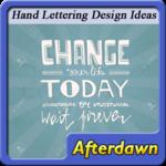 Hand Lettering Design Ideas icon