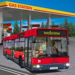 Gas Station Bus Driving Simulator icon