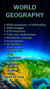World Geography - Quiz Game pc screenshot 1