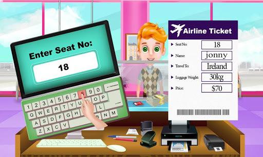 Summer Vacation Airport Trip: Flight Attendant pc screenshot 2