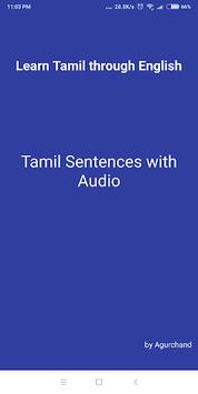 Learn Tamil through English pc screenshot 1
