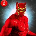 Black speed hero Monster Panther Game : Flash War icon