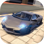 Extreme Car Driving Simulator for pc logo