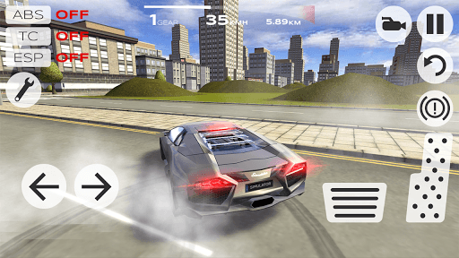 Extreme Car Driving Simulator pc screenshot 1