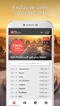 AirAsia BIG pc screenshot 1