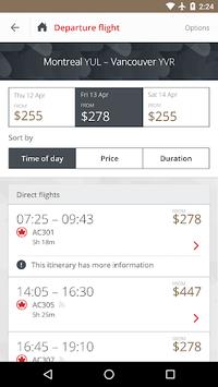 Air Canada pc screenshot 1
