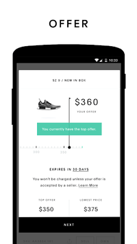 GOAT: Buy & Sell Sneakers pc screenshot 2