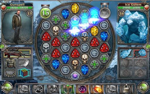 Gunspell - Match 3 Battles pc screenshot 1