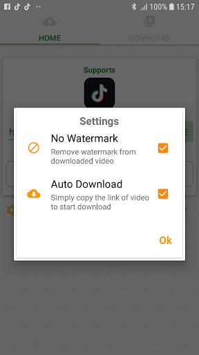 Download video from TikTok no Watermark pc screenshot 1