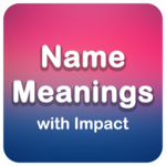 Name Meanings with Impact for pc logo