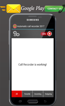 All call recorder 2018 free pc screenshot 1