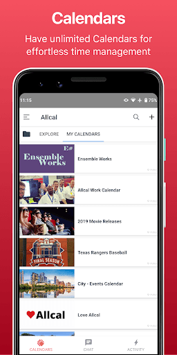Allcal Tickets + Event Planner PC screenshot 3