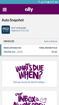 Ally Auto Mobile Pay pc screenshot 2