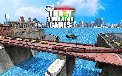 Train Simulator Games : Train Games pc screenshot 1