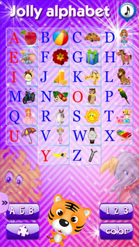 Alphabet, numerals and colors pc screenshot 1