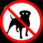 Anti dog sound icon