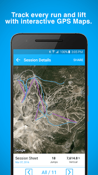 Trace Snow Ski Snowboard Track pc screenshot 1
