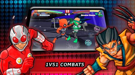 Superheroes Fighting Games Shadow Battle pc screenshot 1