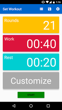 Interval Timer - HIIT pc screenshot 1