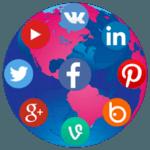 Social Media Connection icon
