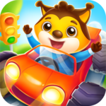 Car game for toddlers - kids racing cars games for pc logo
