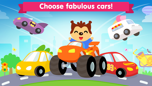 Car game for toddlers - kids racing cars games pc screenshot 1