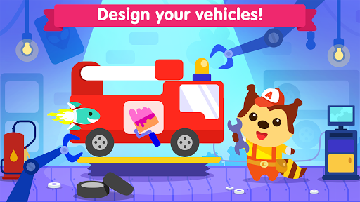 Car game for toddlers - kids racing cars games pc screenshot 2