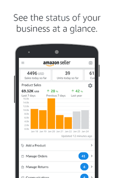 Amazon Seller pc screenshot 1