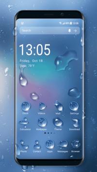 2018 Raindrops Launcher Theme pc screenshot 2