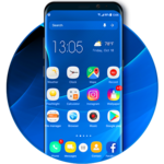 S9 launcher theme &wallpaper icon