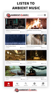 Ambient Mixer Music pc screenshot 1