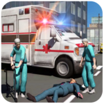 Ambulance Rescue Driving for pc logo