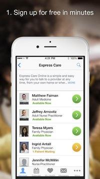 Cleveland Clinic Express Care® Online pc screenshot 2