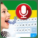 Amharic voice typing keyboard - Speak to type icon