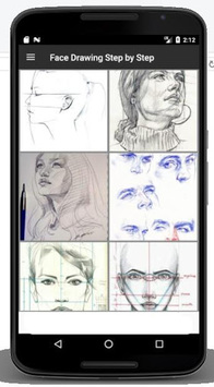 Face Drawing Step by Step pc screenshot 2