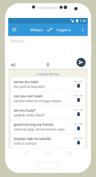 Kamus Inggeris - Melayu pc screenshot 1
